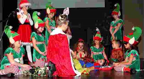 a snow christmas childrens musical play artreach