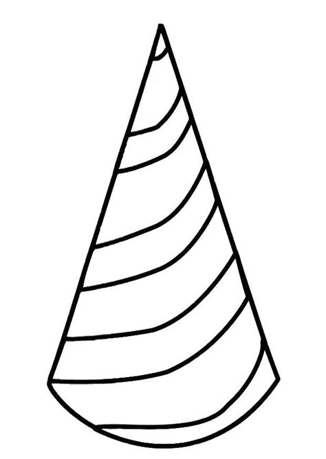 coloring page party hat hats coloring pages coloring home