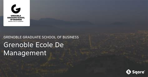 Of Delware Mba Scholarship Program by Scholarship At Grenoble Graduate School Of Business 2017