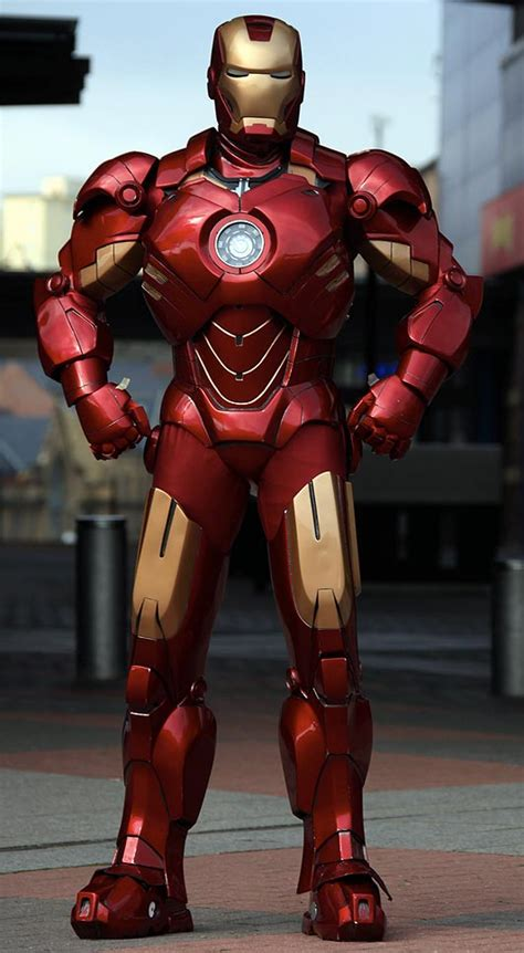 sasaki time iron man suit cardboard