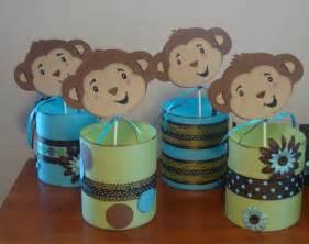 monkey baby shower theme favors ideas