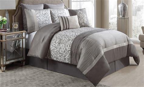 King Comforter Sets Groupon by King And Embellished Jacquard 8 Comforter Sets