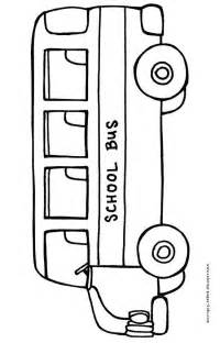 color of school buses school coloring page preschool