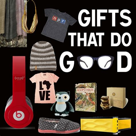58 best gifts that give holiday presents that help