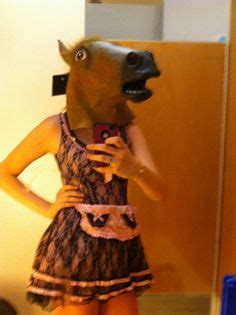 girl with horse head 1000 images about horse head girls on pinterest