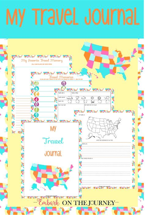 printable road trip journal free quot my travel journal quot for kids printable pack money