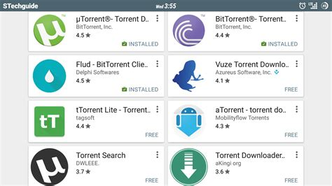 android torrents 5 best torrent app for android 2015