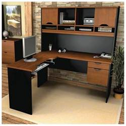 Pc Desk Design by Oak Corner Computer Desk With Hutch Home Office Desk