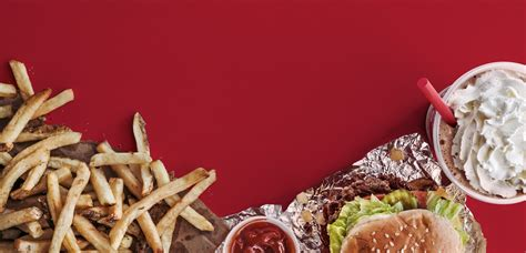 Five Guys Gift Card Balance - menu