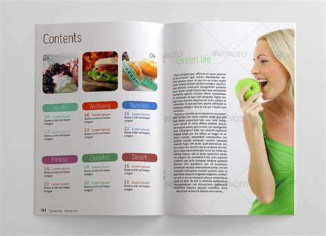 pages magazine template food magazine template 48 pages magazines