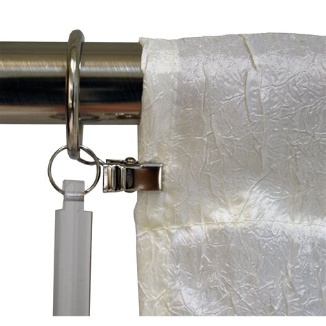 curtain wands versailles home fashions quot universal drapery wand hardware