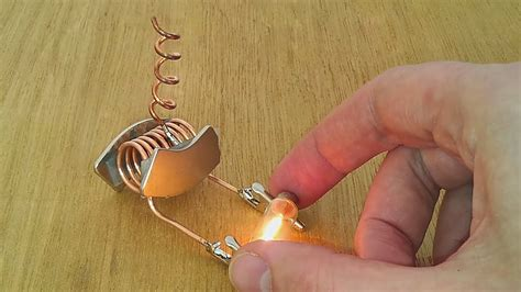 free energy device tested on light bulb