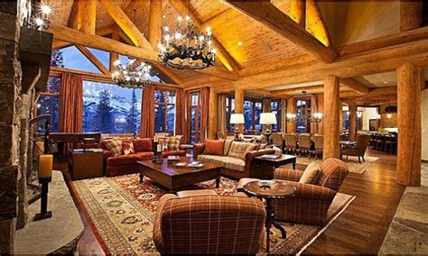 living room caign luxury log cabin homes log cabin mansion living room log