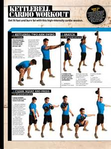 burning kettlebell cardio workout routine