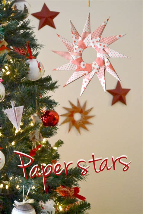 tutorial origami natalizi come fare una stella origami di natale tutorial la