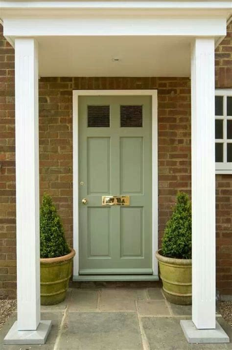 Green Exterior Door Best 20 Green Front Doors Ideas On