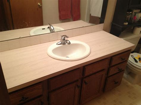 How To Use Envirotex Lite On Countertops by Handy In Ks Countertop Upgrade On The Cheap With