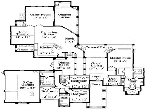 luxury house plans one story one story luxury floor plans luxury hardwood flooring one