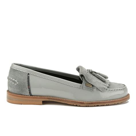 grey suede loafers womens barbour s suede tassel loafers soft grey