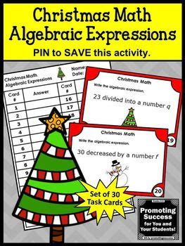 christmas algebra projects 56 best images about activities for on 5th grade centers activities