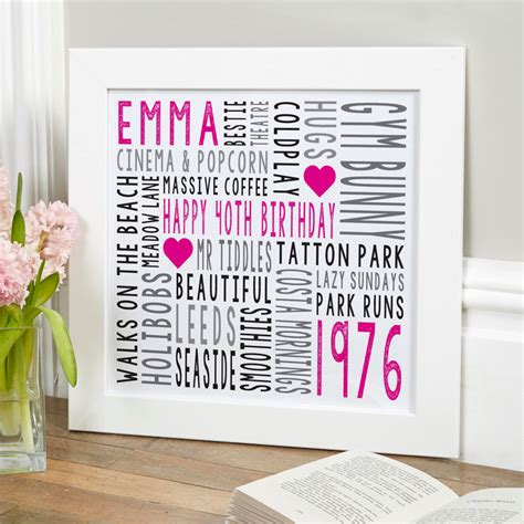 typography gifts personalised typographic prints canvases chatterbox walls