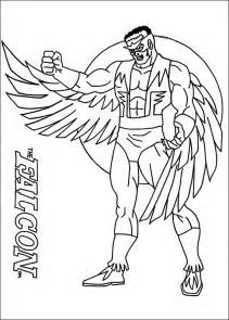 falcon marvel coloring pages