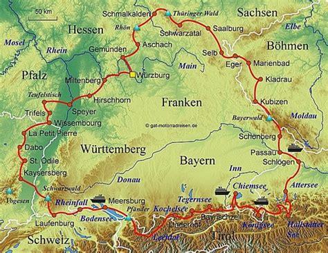 Motorradtouren Deutschland Karte by Motorradreise Deutschland Gef 252 Hrte Motorradtouren