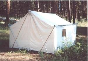 canvas cabins