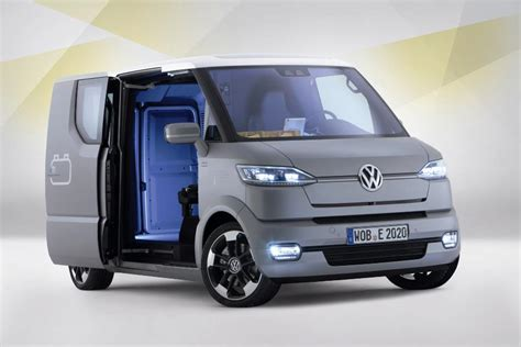 electric volkswagen van volkswagen et concept can t phone home can drive itself