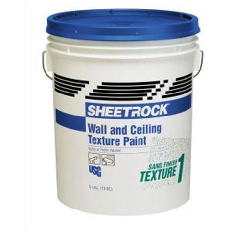 home depot paint texture additive sheetrock brand 5 gal wall and ceiling sand finish