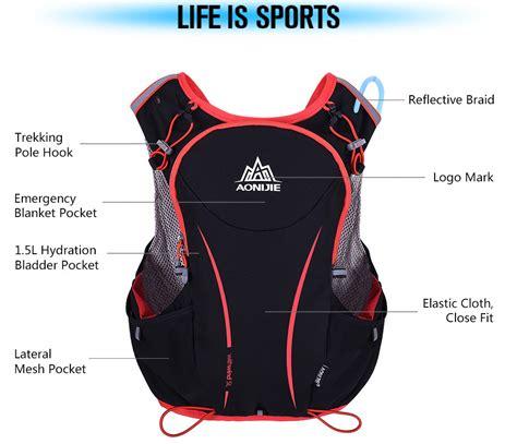 Tas Mini Backpack 22013 Black Terlihat Sporty Saat Beraktivitas Santai aonijie tas olahraga 5l dengan hydration slot 1 5l size l