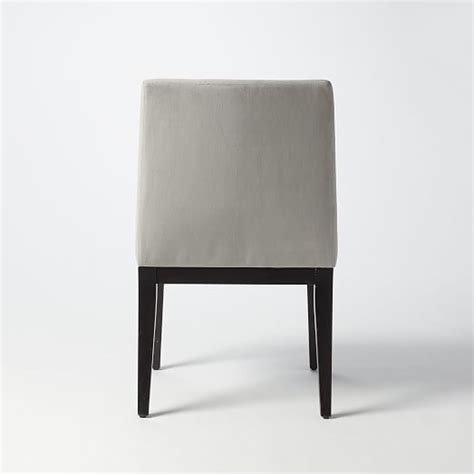 dove gray velvet dining chairs with curved dining table curved upholstered chair dove gray west elm