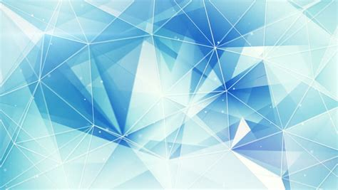 triangle light pattern blue abstract triangle vector background stock footage
