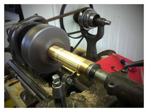 Me And This Motorcycle Using The Lathe To Make Longer