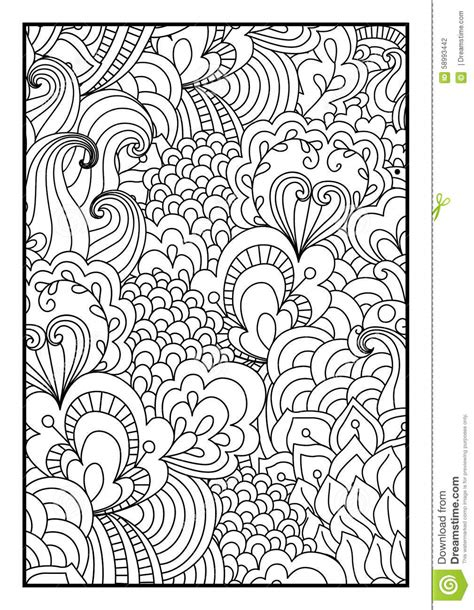 pattern  coloring book stock vector image  cultures