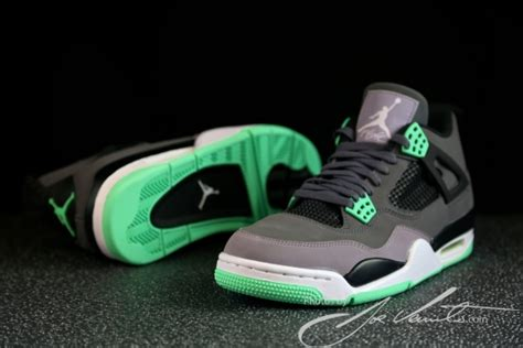 Sepatu Air 4 Green Glow quot green glow quot air 4 retro sneakernews