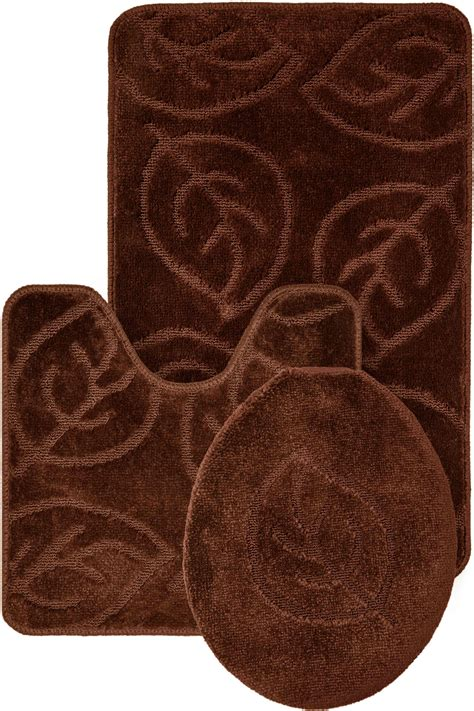 3 Pc Bathroom Rug Set Roselawnlutheran Bathroom Rugs Set