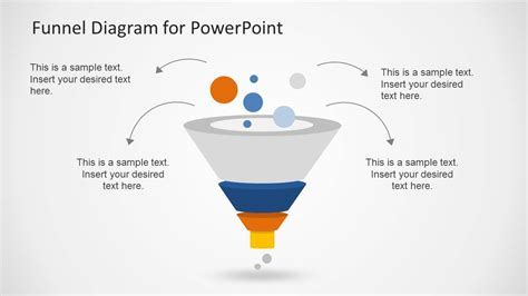 Creative Funnel Diagram Template For Powerpoint Slidemodel Funnel Diagram Powerpoint Template