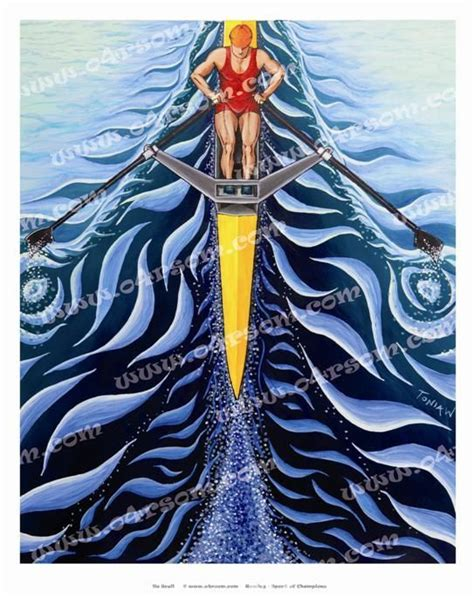 sculling boat painting 17 best images about rowing art on pinterest rowing team