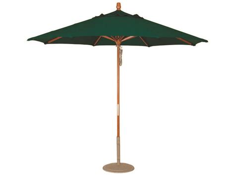 Treasure Garden Patio Umbrella Treasure Garden Market Wood 9 Octagon Pully Lift Umbrella Um8091