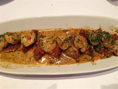 brio tuscan grille southlake tx spicy shrimp and eggplant