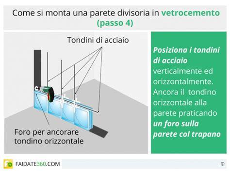 mattoni vetrocemento per doccia realizzare una parete in vetrocemento in vetrocemento