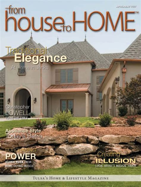 home magazine from house to home magazine