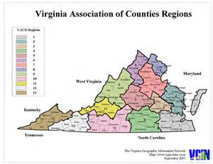 Virginia Map Of Usa by Virginia Counties Map Virginia Usa Mappery