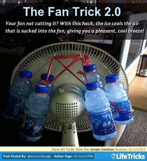 fans for cars without ac your fan not cutting it with this hack the cools the