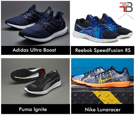 types of athletic shoes 4 types of running shoes for to accomplish success