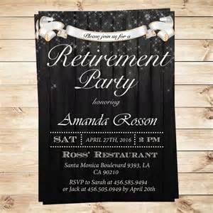 12 retirement invitations psd ai
