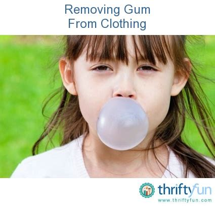 how to get gum out of fabric couch removing gum from clothing warm cas and the plastics