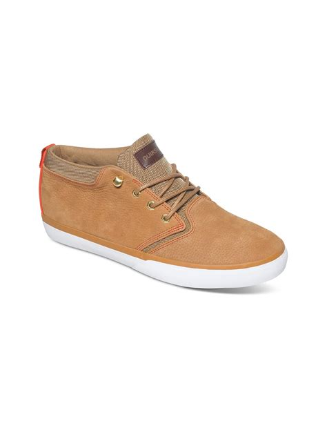 griffin shoes griffin fg suede mid shoes aqys300004 quiksilver