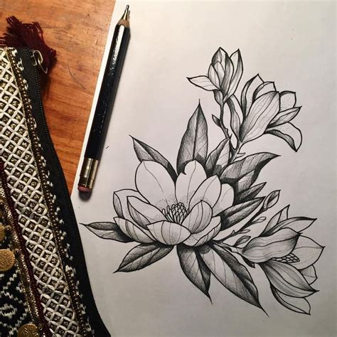 best 25 magnolia tattoo ideas on pinterest magnolia